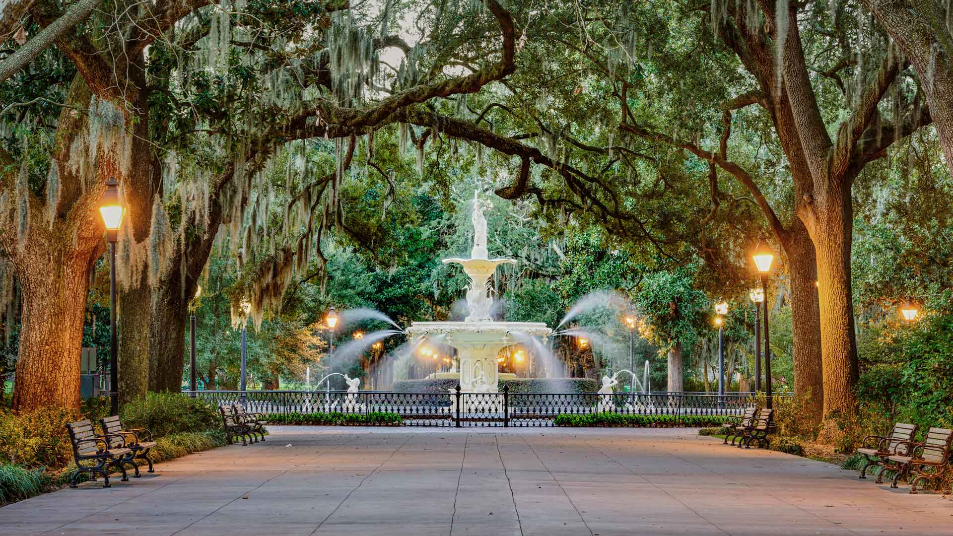 Fountain in Savannah, Georgia